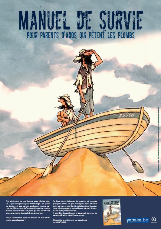Affiche Manuel De Survie Pour Parents D Ados Qui Petent Les