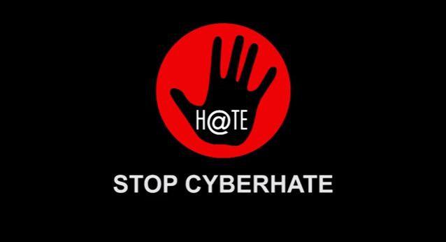 Afbeeldingsresultaat voor stop cyberhate logo
